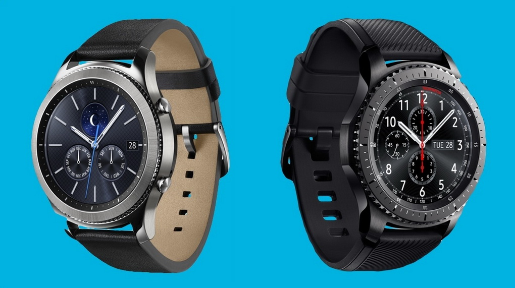 Samsung Gear S3 Classic and Frontier-дизайн