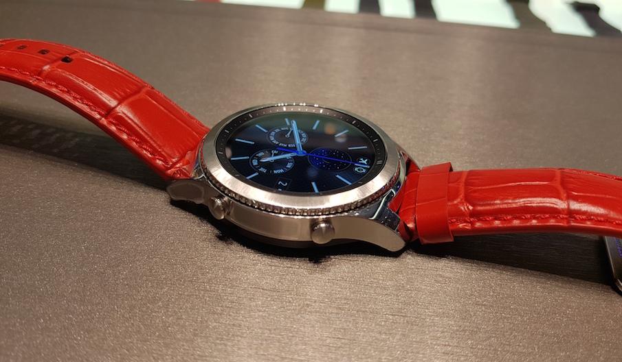 Samsung Gear S3-дизайн модели