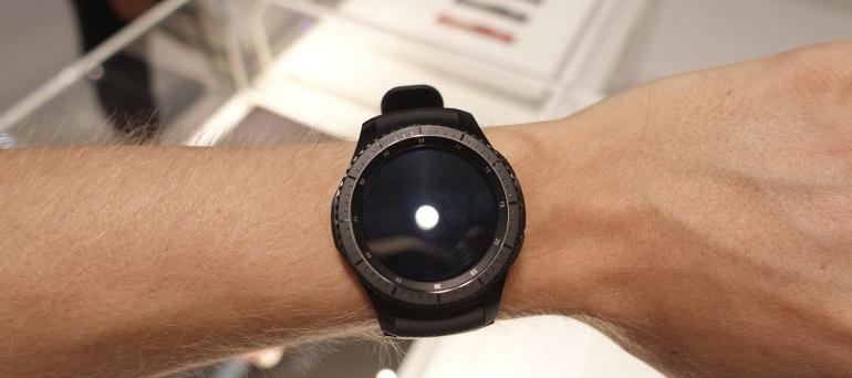 Samsung Gear S3-фото с мероприятия 1