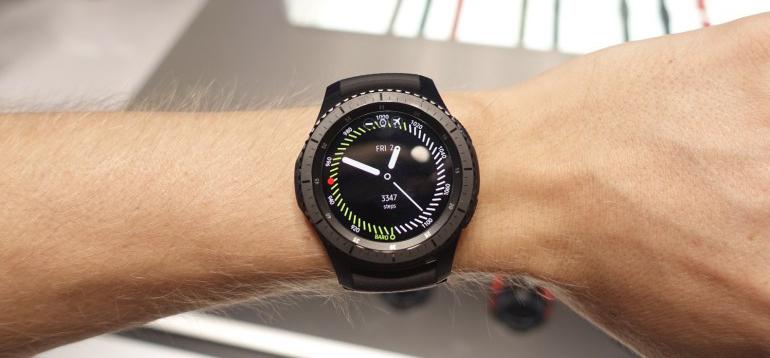 Samsung Gear S3-софт
