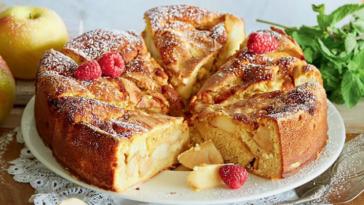 Самый простой и быстрый яблочный пирог Варшавская шарлотка