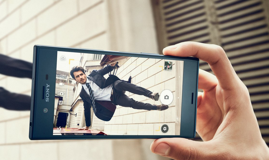 Sony Xperia XZ-дизайн фото 4
