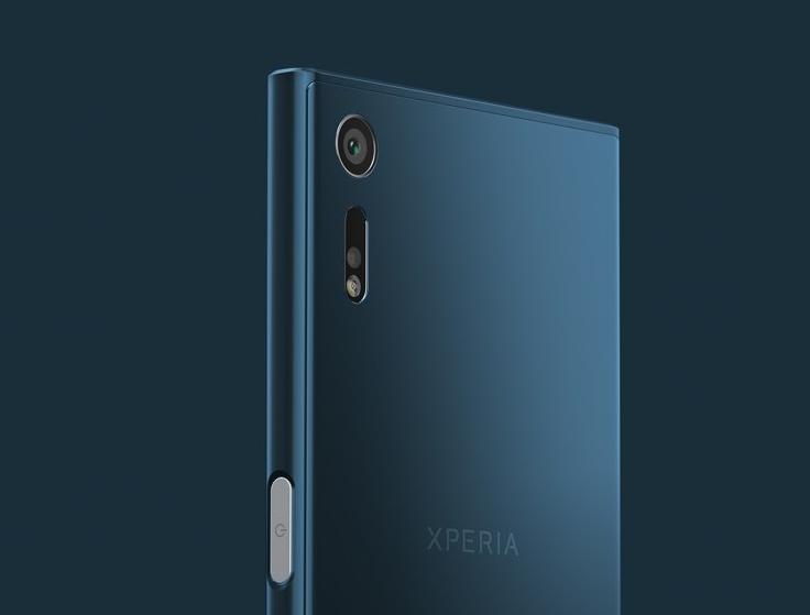 Sony Xperia XZ-дизайн