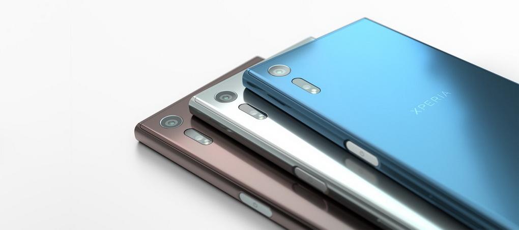 Sony Xperia XZ-расцветки модели