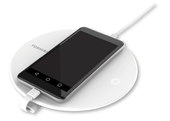 Toshiba-особое зарядное устройство для смартфона