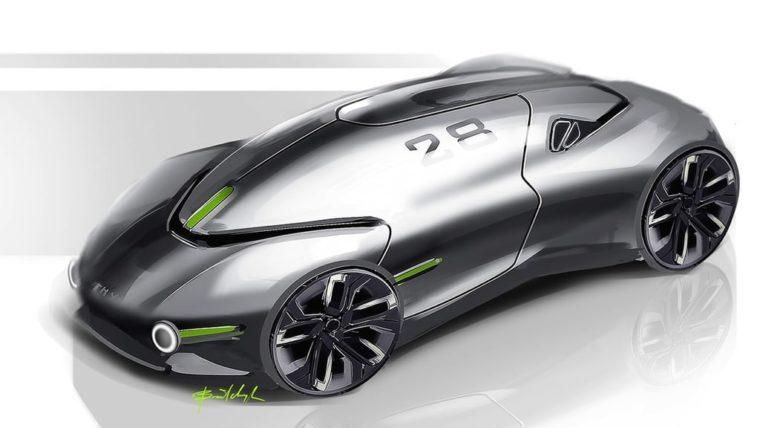 Украинец разработал дизайн спортивного электромобиля будущего - фото 2