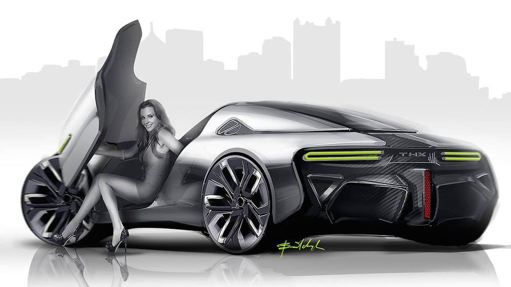 Украинец разработал дизайн спортивного электромобиля будущего - фото 3