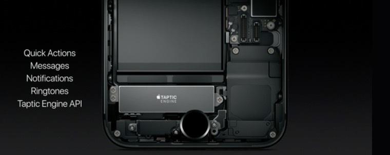 iPhone 7-Taptic Engine