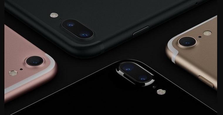 iPhone 7 и iPhone 7 Plus-основная камера крупный план