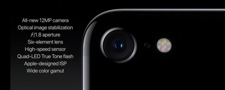iPhone 7-основная камера спецификации