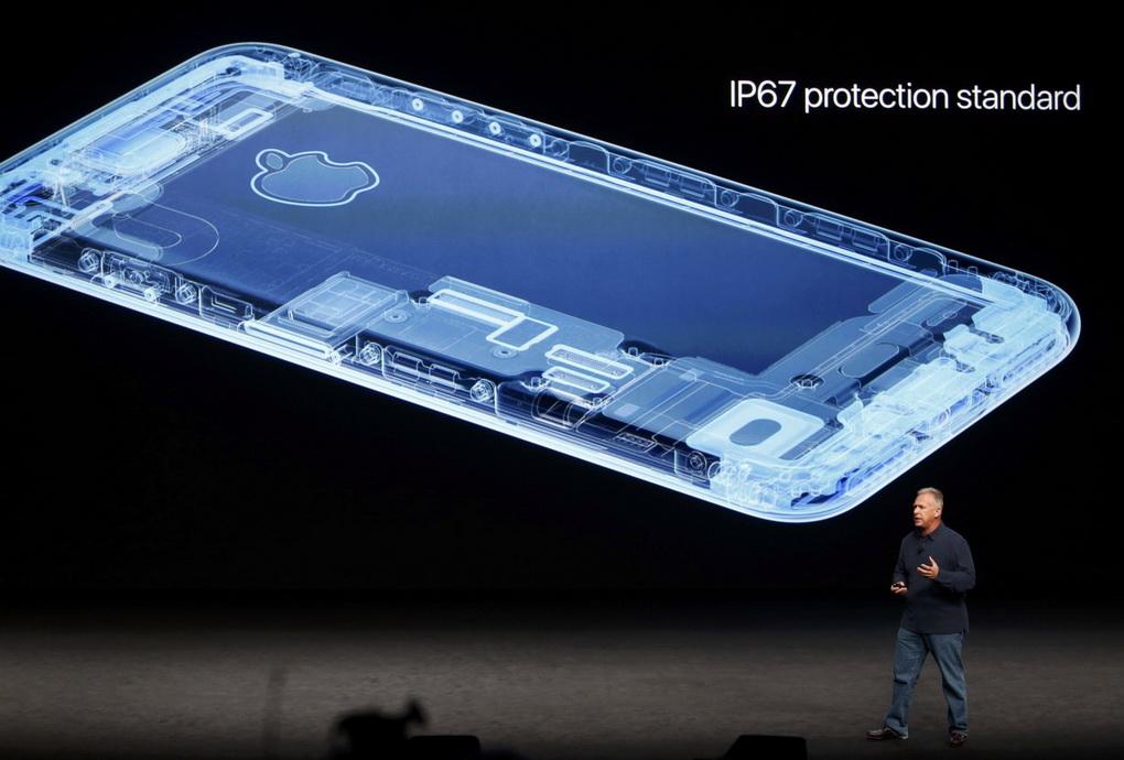 iPhone 7-влагозащита IP67