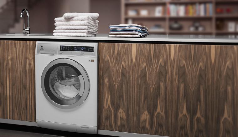 в интерьере стиральная машина