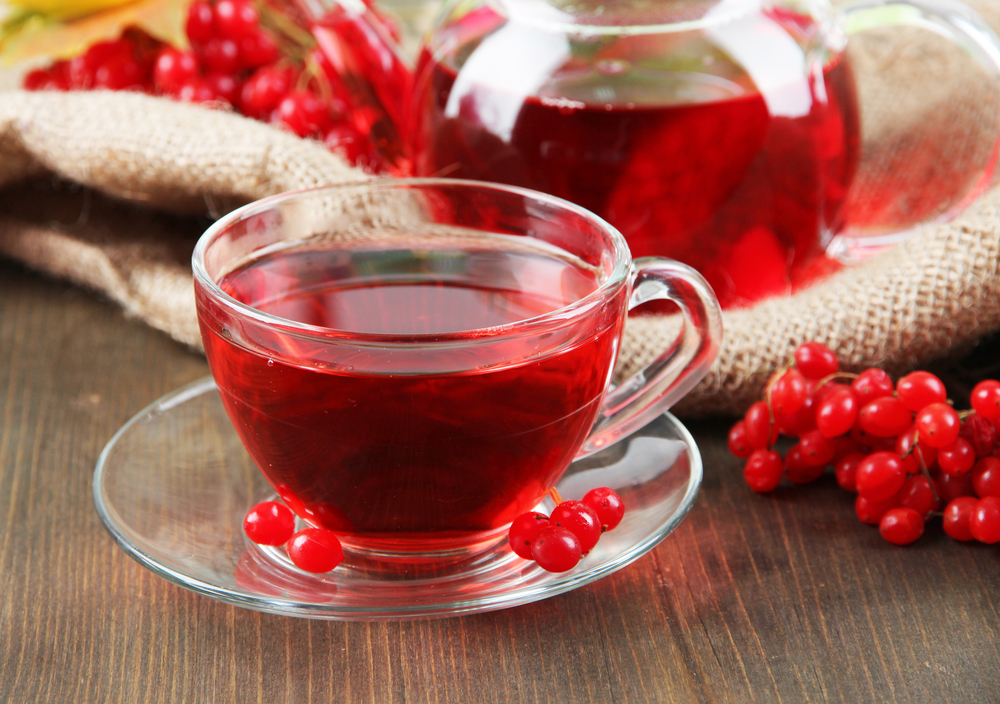 Чай с калиной-витаминный