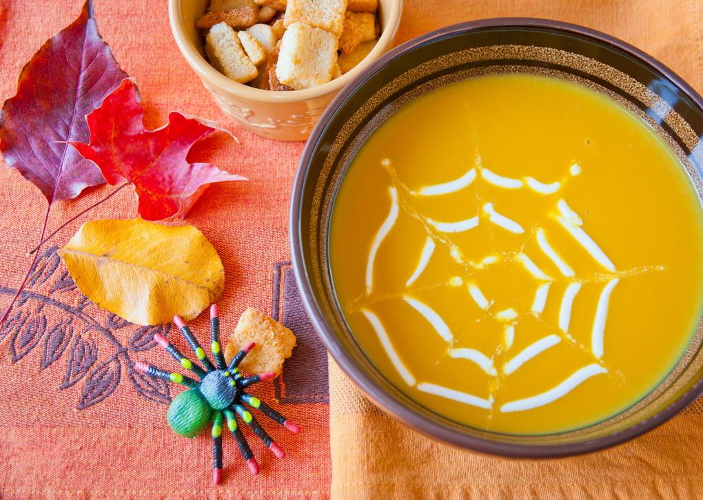 суп-с паутинкой