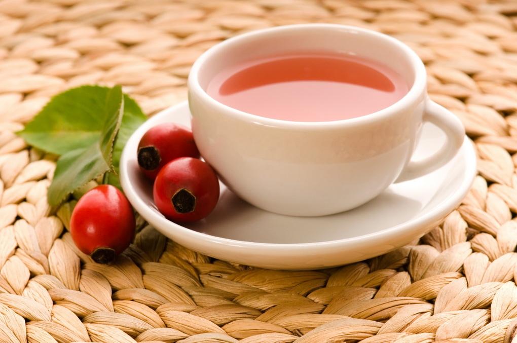 фото Витаминный чай-с шиповником