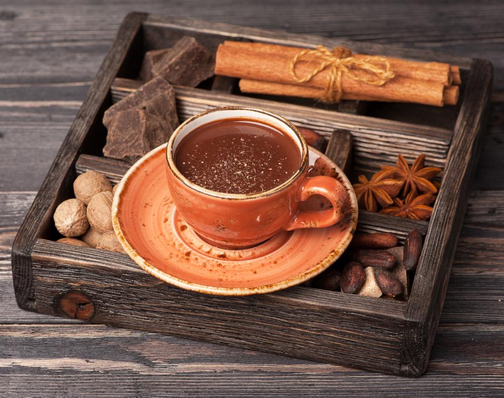 Горячий шоколад с пряностями-фото