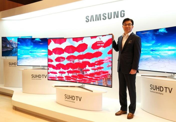 телевизор Samsung SUHD