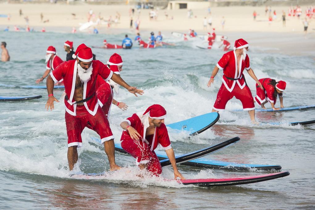 Новый год серфинг
