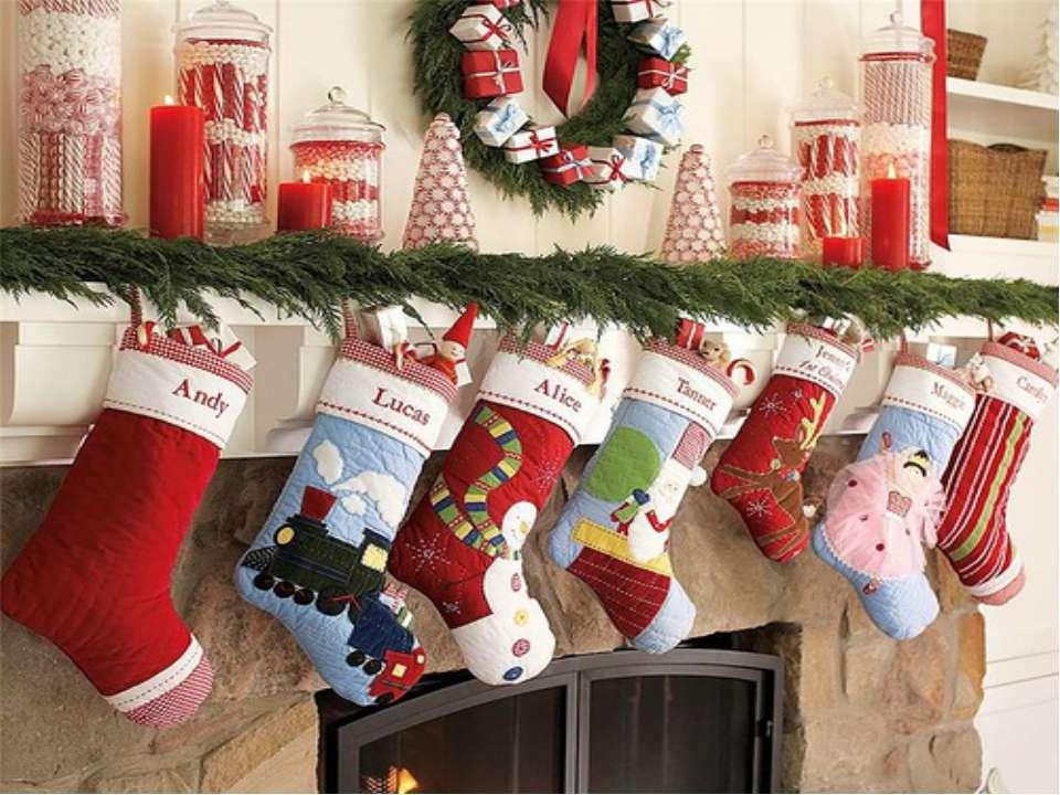 Подарки на рождество в англии