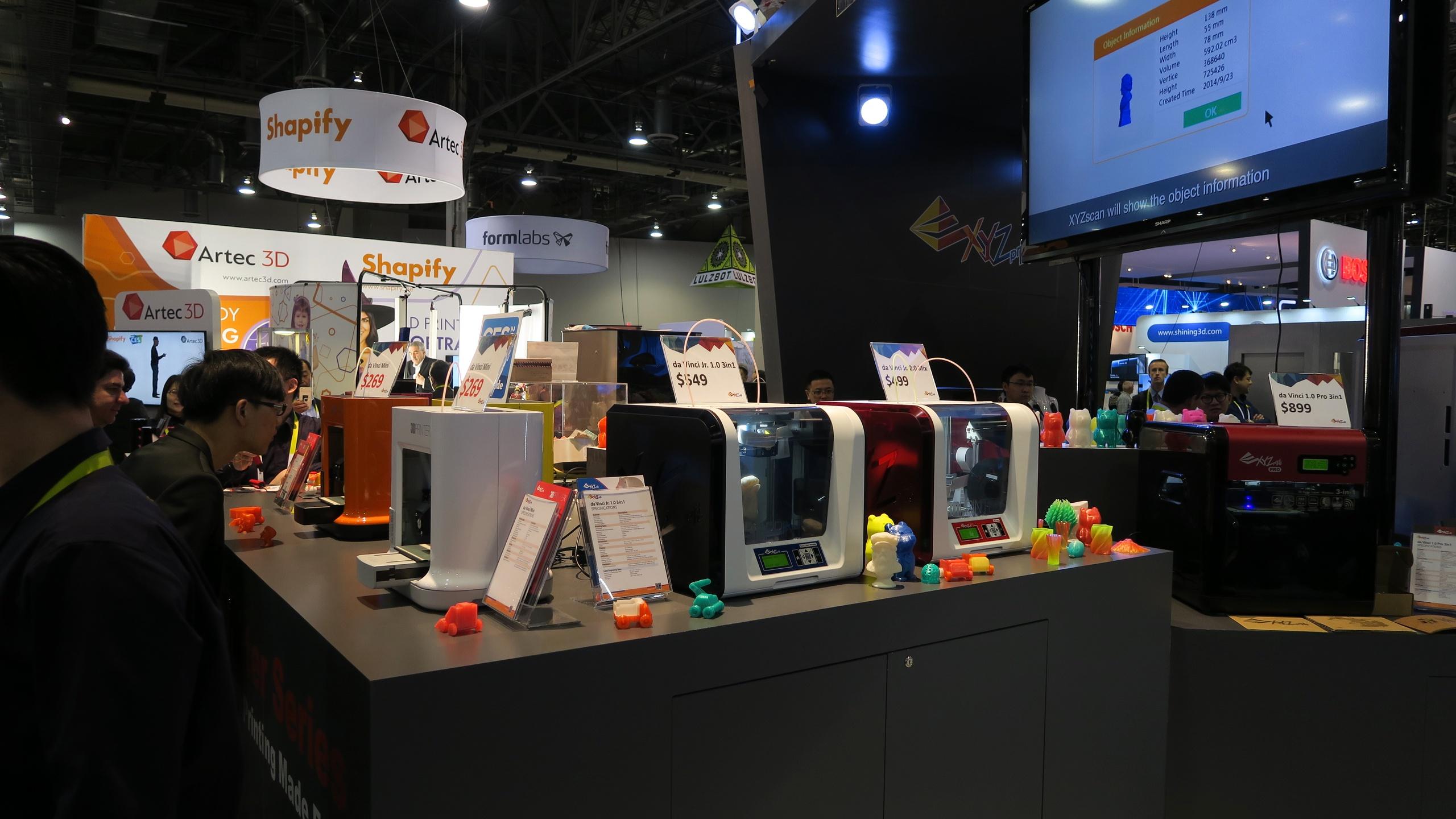 выставка 3D-принтеров