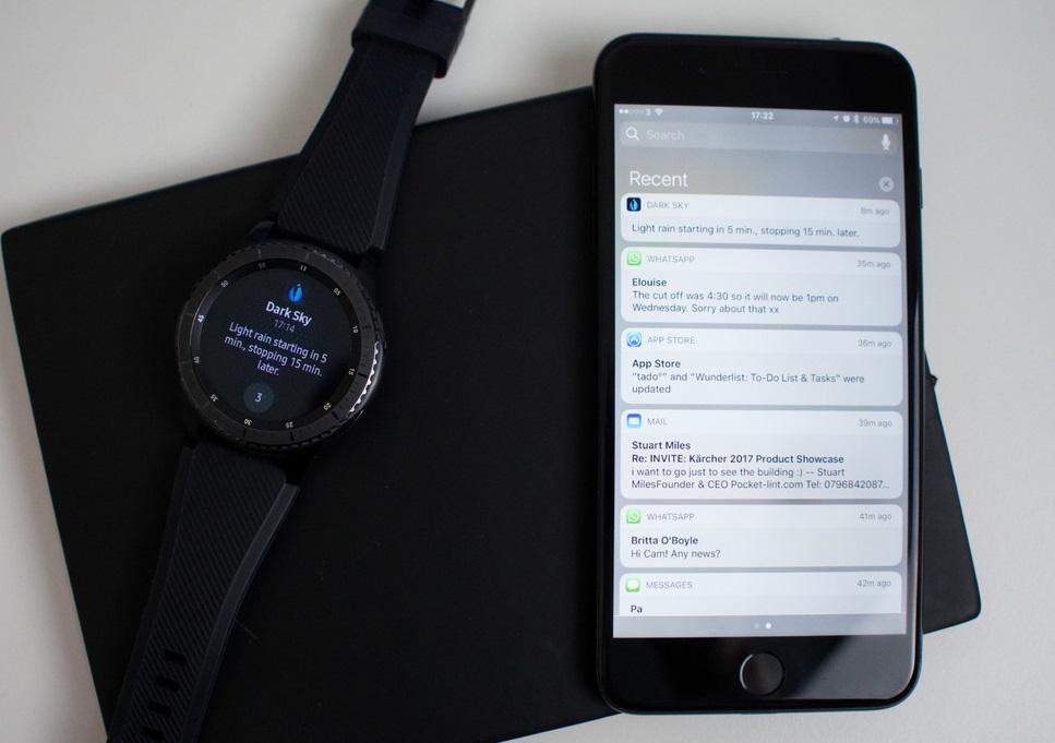 osobennosti-ispolzovaniya-smart-chasov-samsung-gear-s3-s-iphone-prilozhenie
