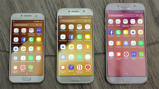 Новые модели телефонов самсунг 2017 года обзор