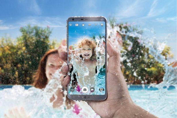 LG G6-теперь водонепроницаем