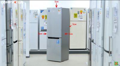 Как должен стоять холодильник