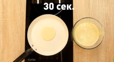Панкейк на сковороде