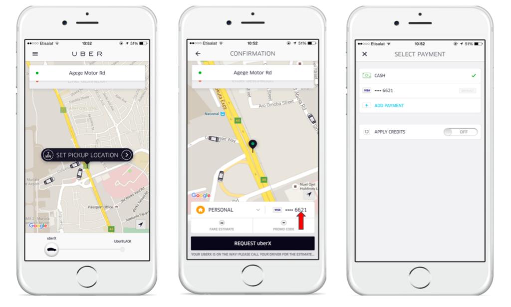 скачать приложение убер такси - фото 7