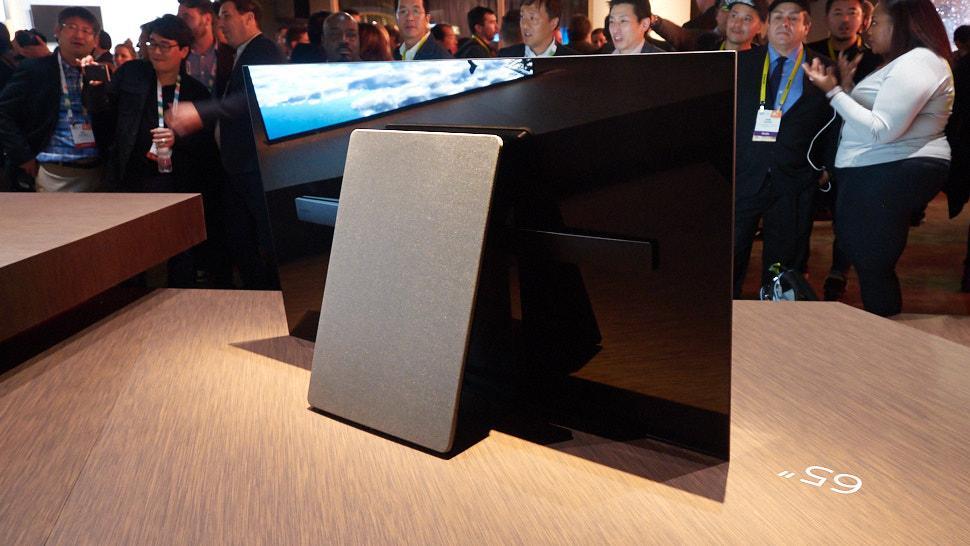 телевизор Sony сзади