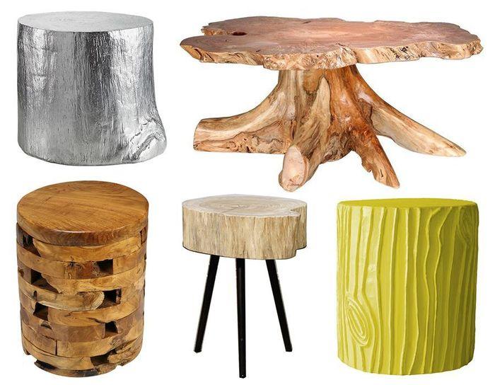 Дизайнерские прикроватные столики-креатив