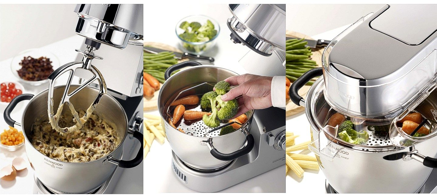 Дополнительный арсенал для кухонных машин - ассортимент кухонных машин