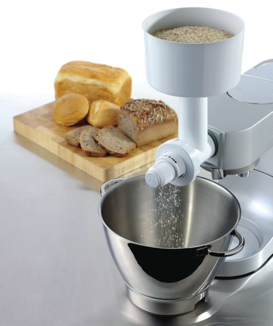 Дополнительный арсенал для кухонных машин - насадка мельничка