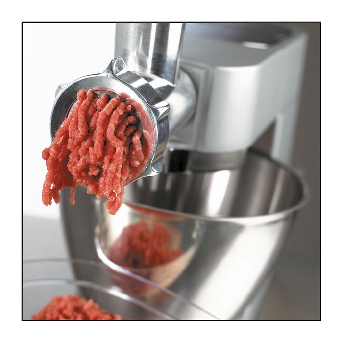 Дополнительный арсенал для кухонных машин - насадка мясорубка