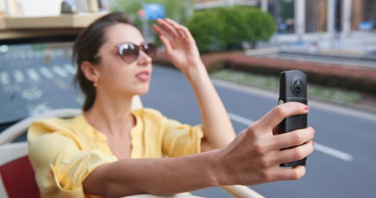 Камера виртуальной реальности, заменит Вам обычную экшн-камеру.