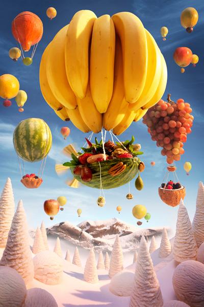 Карл Уорнер-сцена из еды 3