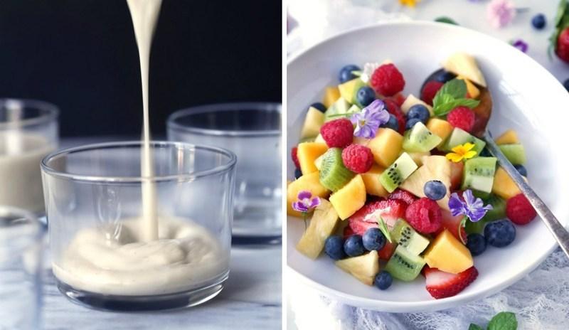 Кокосовый пудинг с ягодами-как сделать