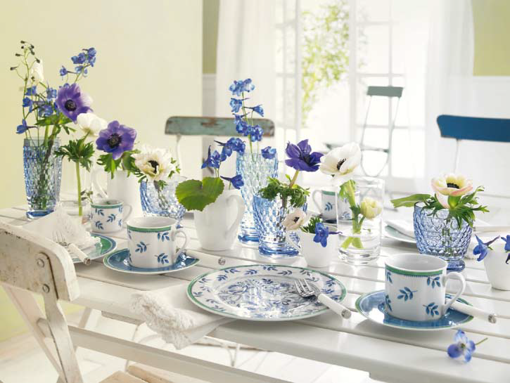 Летний сад-сервировка стола
