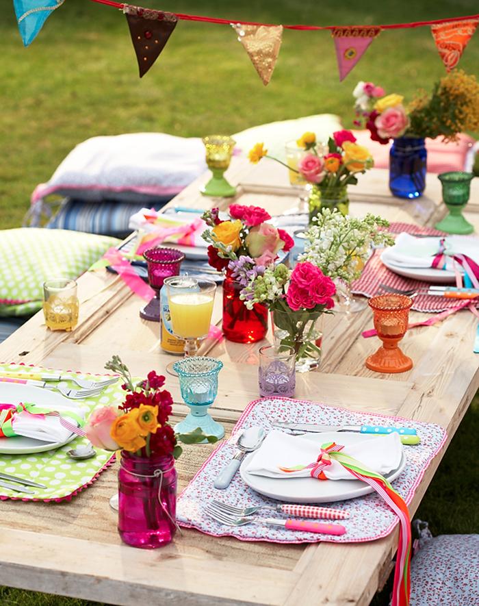 Летняя вечеринка-яркие цвета