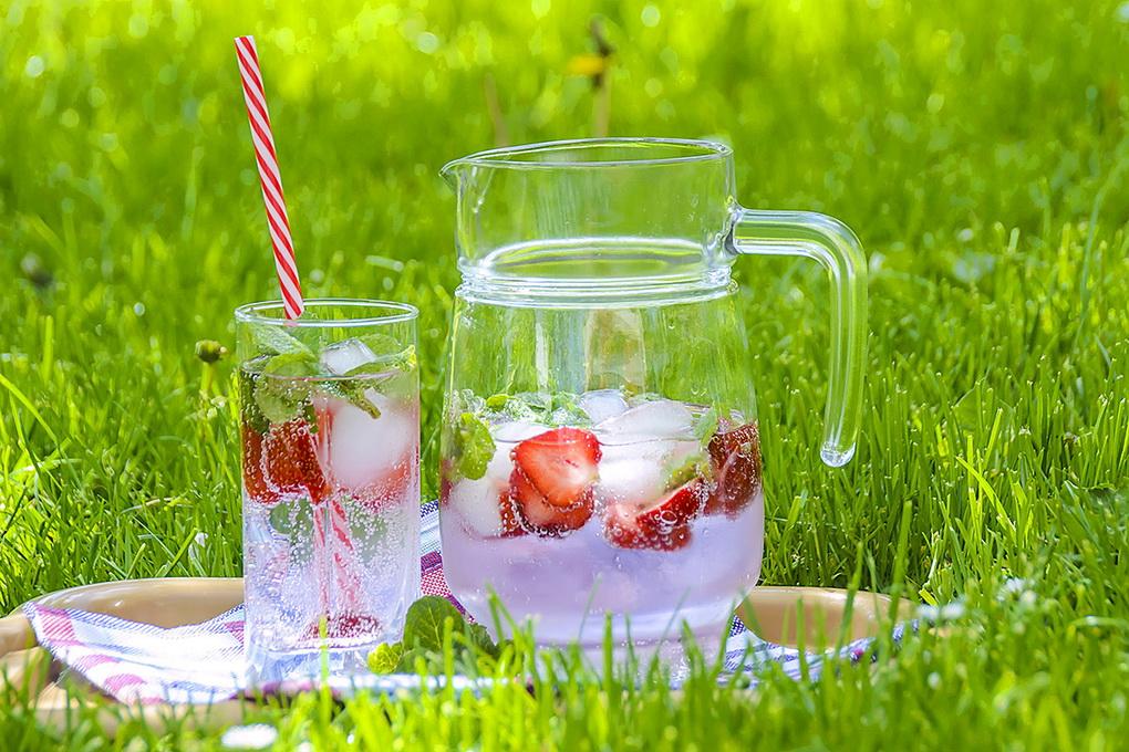 Напитки с клубникой-фото