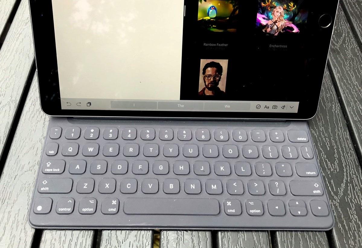 Обзор 10,5-дюймового iPad Pro – аксессуары