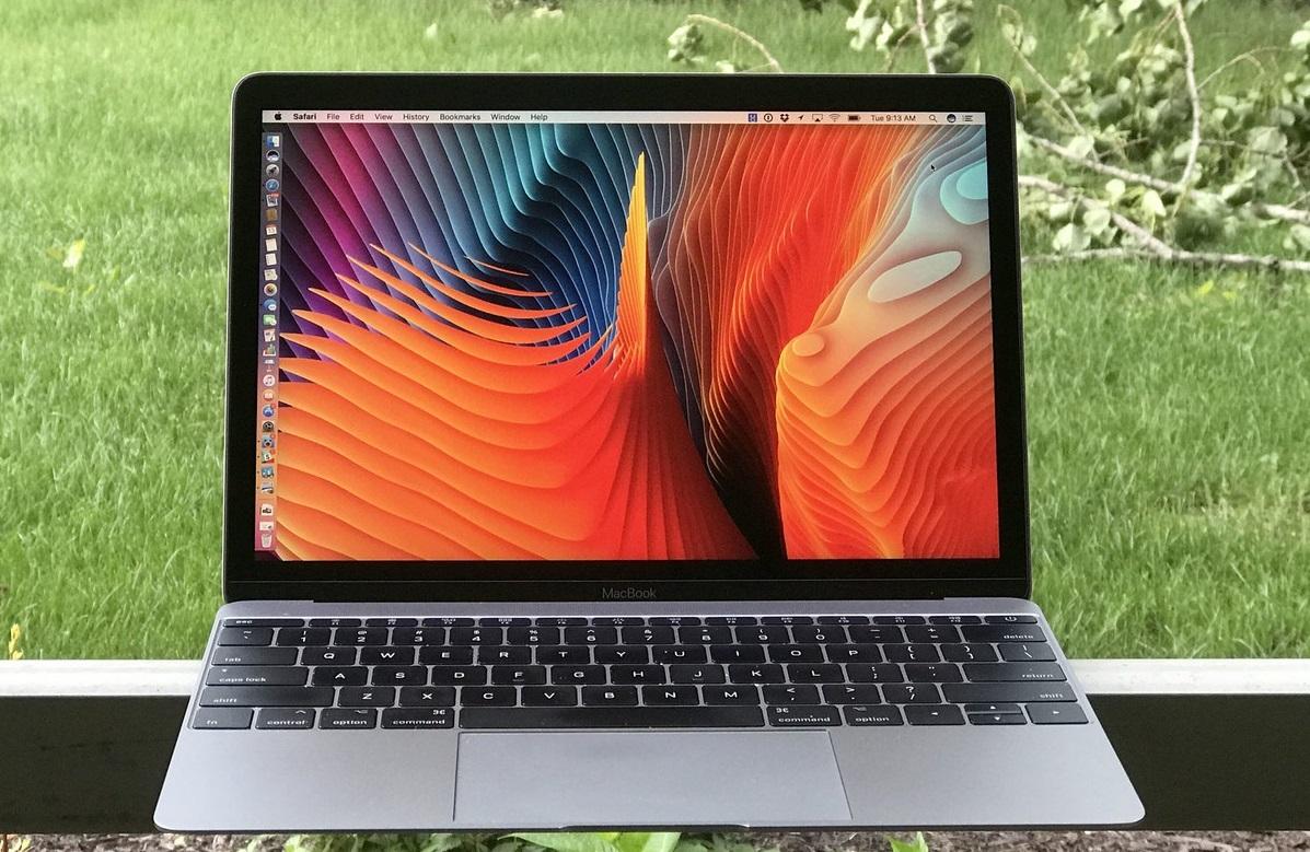 Обзор 12-дюймового MacBook 2017 с процессором Intel Kaby Lake - дисплей
