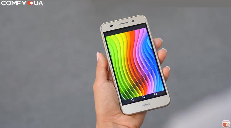 Обзор смартфона Huawei Y3 2017