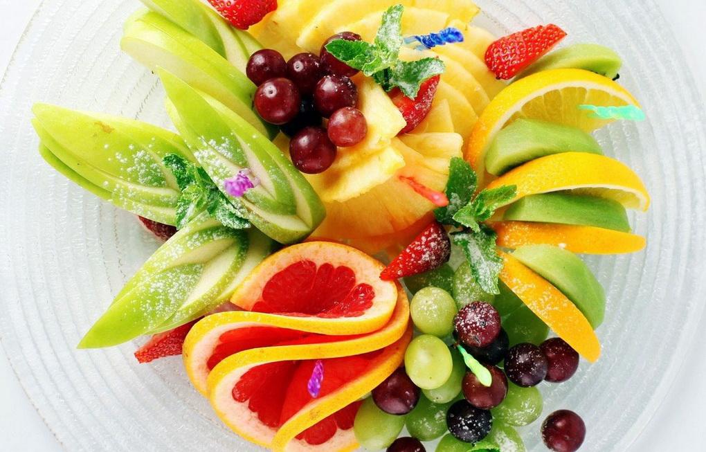 Оригинальная фруктовая нарезка-фото 1
