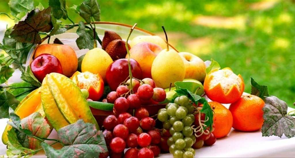 Папка «Фото», Сезонные продукты-летний режим питания – фрукты.