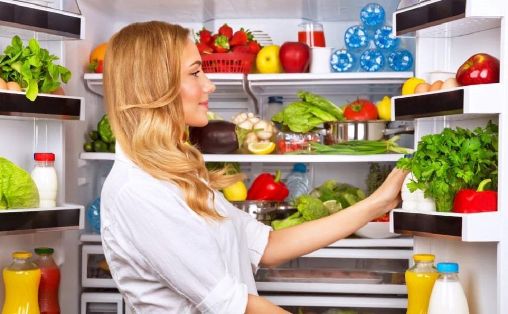 Папка «Фото», Сезонные продукты-летний режим питания – хранение продуктов в холодильнике.