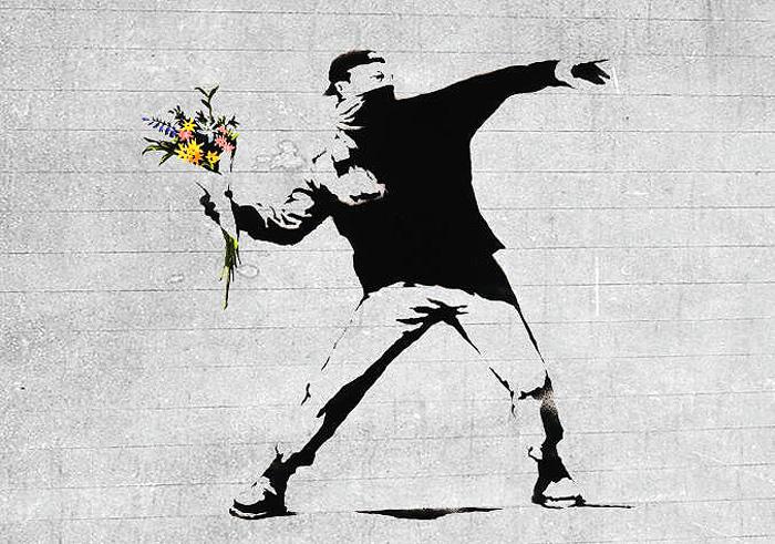 Папка «Фото», Стрит-арт-история развития и лучшие примеры уличного искусства – Бэнкси.