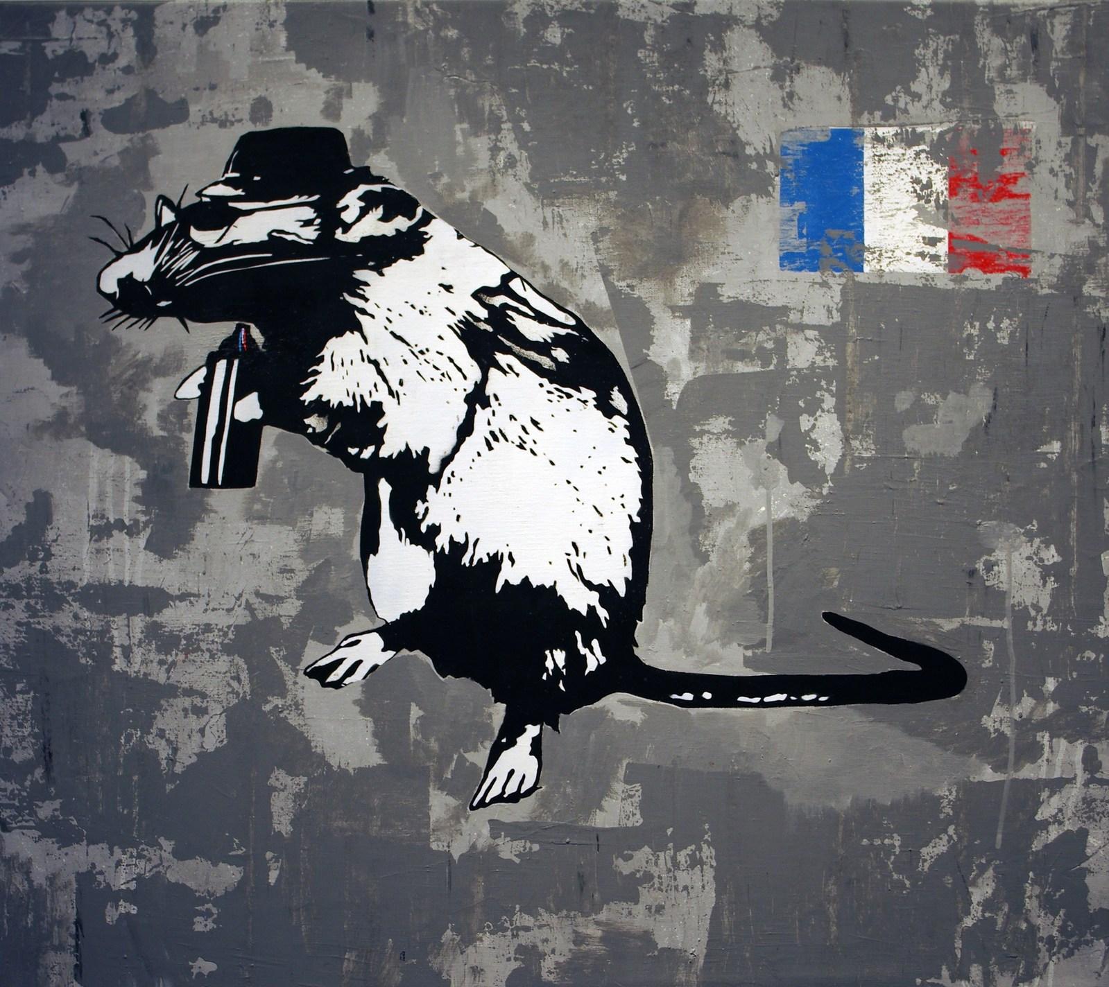 Папка «Фото», Стрит-арт-история развития и лучшие примеры уличного искусства – Blek le Rat.