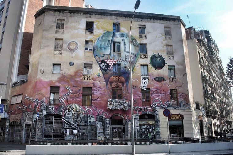 Папка «Фото», Стрит-арт-история развития и лучшие примеры уличного искусства – Муралы Барселоны 3.